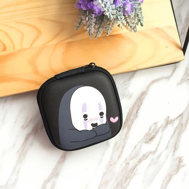 Accessories Faceless Man Cute Cartoon Earphone Zipper Case