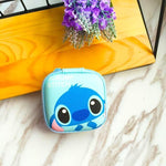 Accessories Stitch Cute Cartoon Earphone Zipper Case