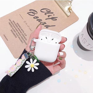 Airpods Case A Cute Korean Flower Decoration AirPods Case