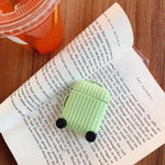 Airpods Case A5 Simple Color Luggage AirPods Case