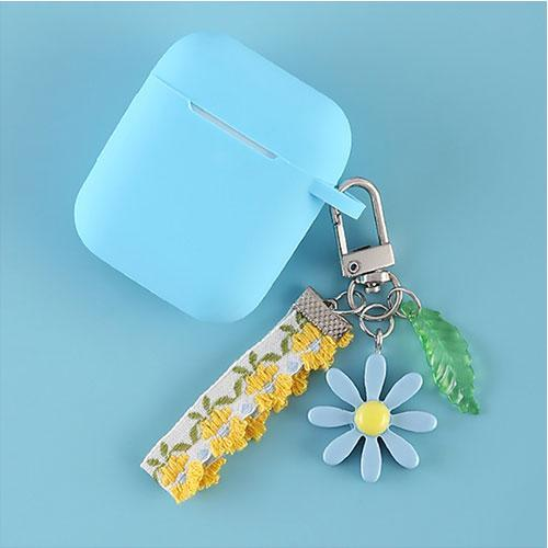 Airpods Case I Cute Korean Flower Decoration AirPods Case