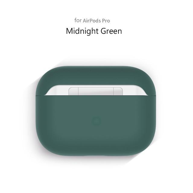 Airpods Case Midnight Green Liquid Silicone AirPods Pro Case