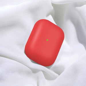 Airpods Case Red Liquid Silicone AirPods Pro Case