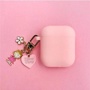 Airpods Case style B Cute Cartoon Dog Silicone AirPods Case