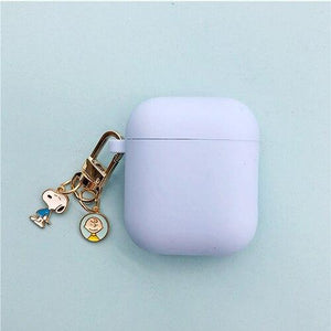 Airpods Case style C Cute Cartoon Dog Silicone AirPods Case