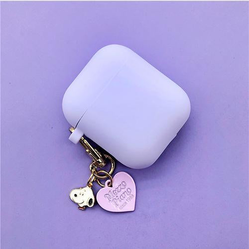 Airpods Case style D Cute Cartoon Dog Silicone AirPods Case