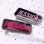Phone Case Customized Liquid Glitter Case