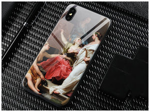 Customized Image Tempered Glass Case