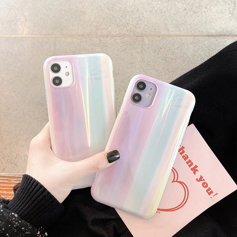 Rainbow Gradient Aurora Case