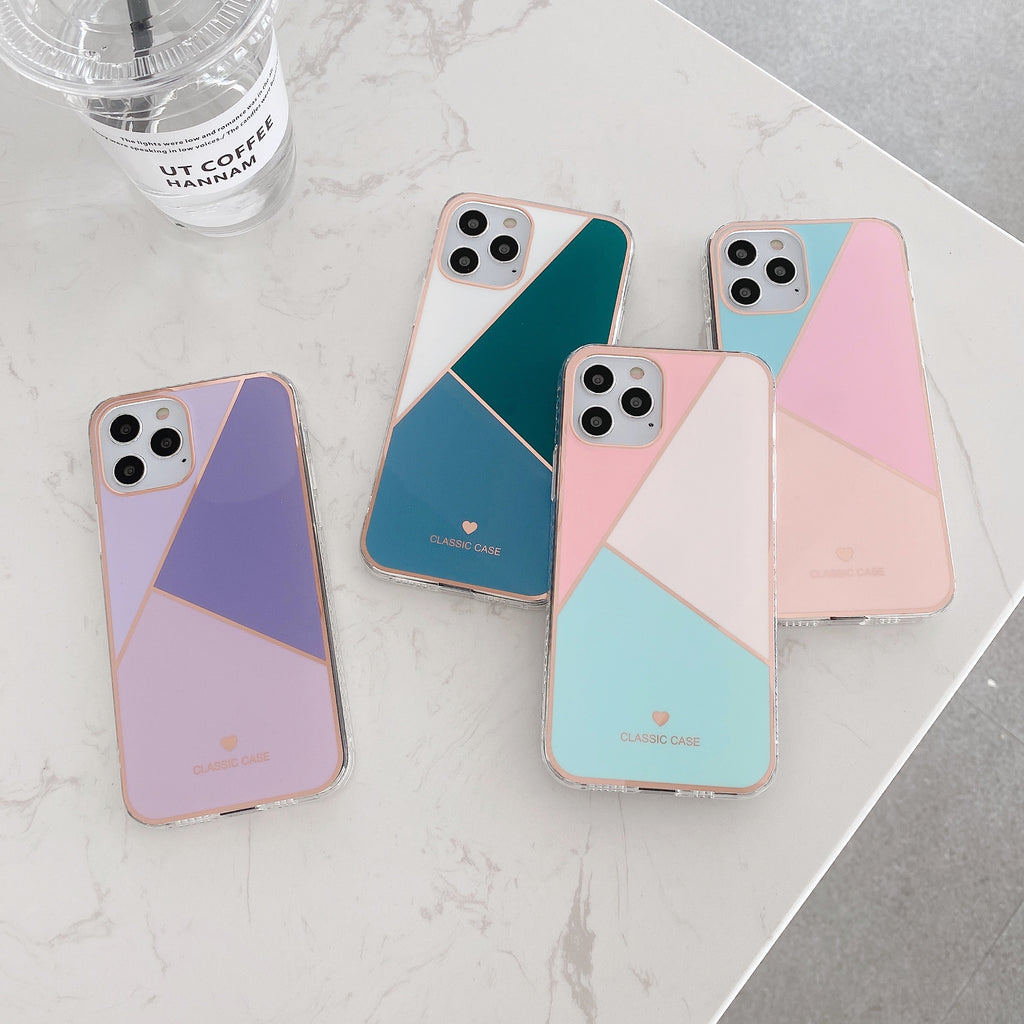 Luxury Geometric Color Case