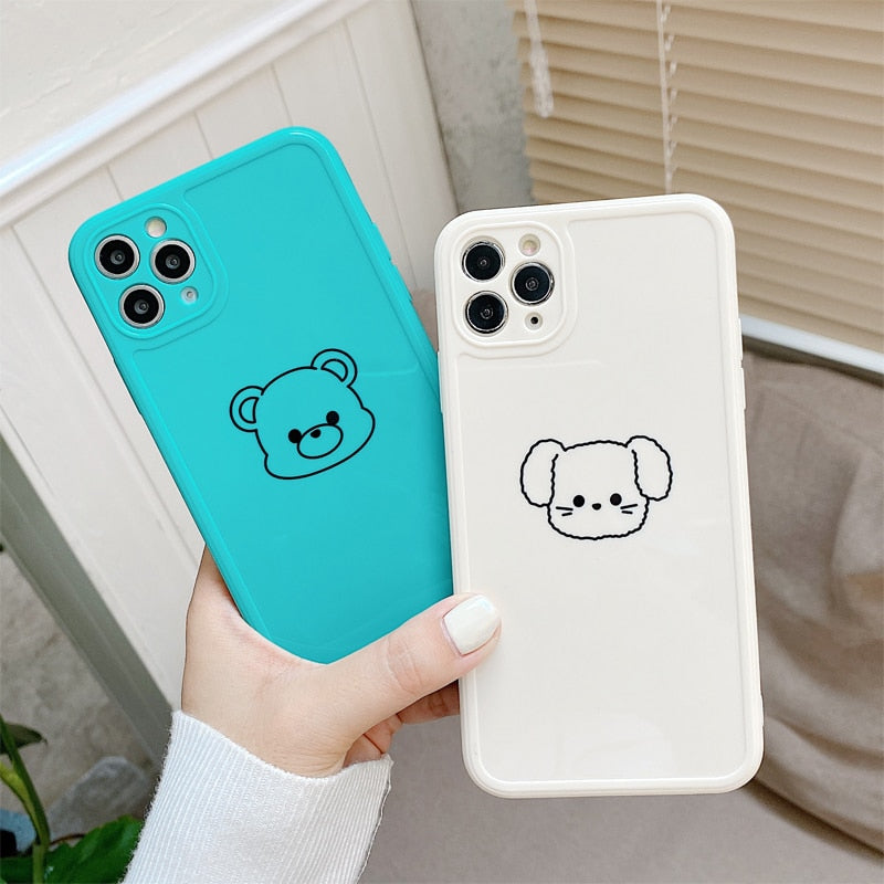 Cute Animal Candy Color Case