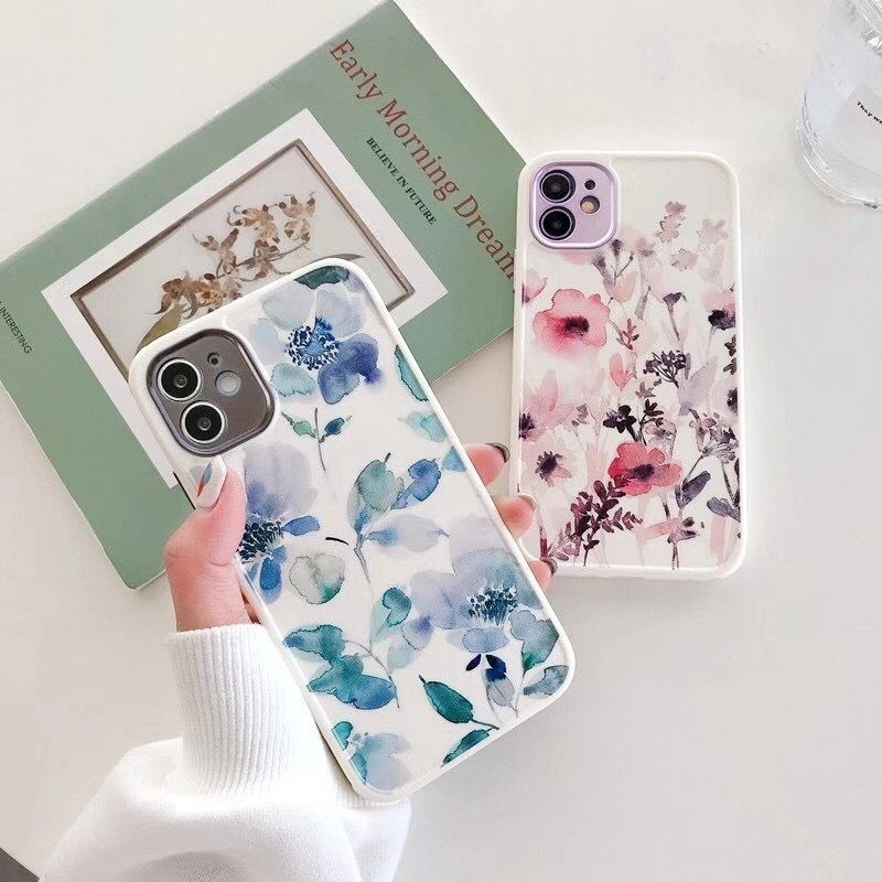 Floral Art Painting Case