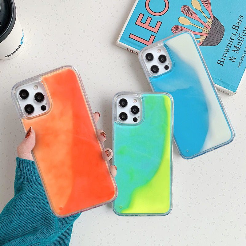 Glow in the Dark Sand Liquid Case