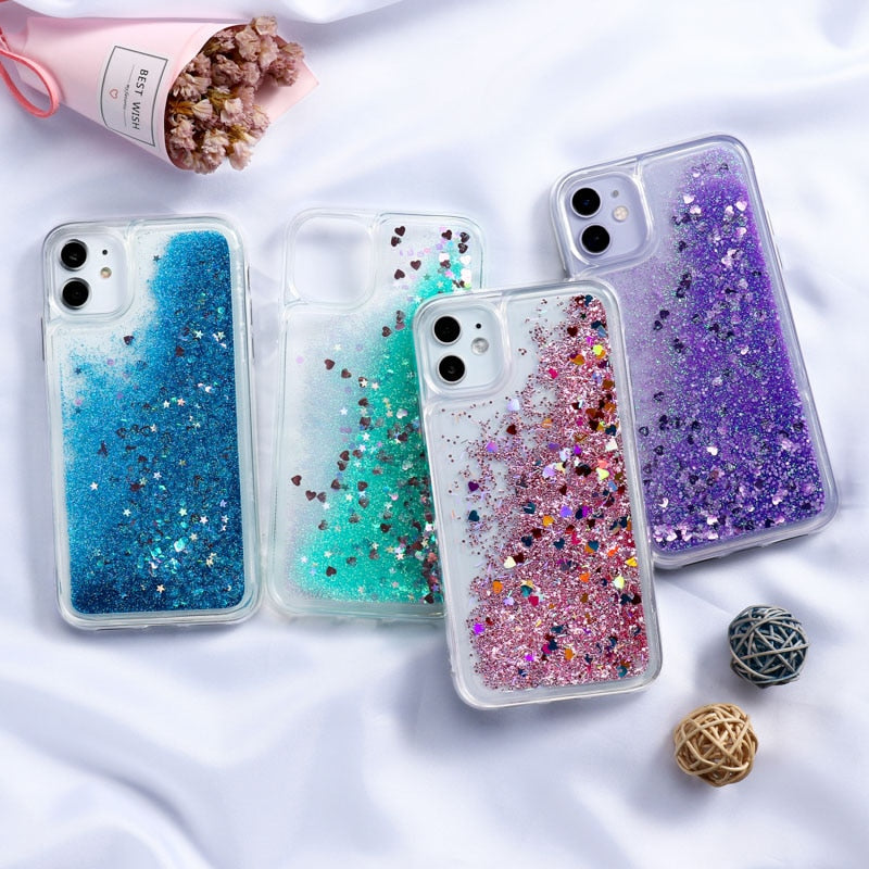 Fashion Liquid Glitter Case
