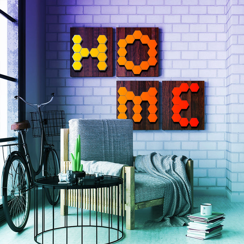 Touch Sensitive Hexagon Wall Lights - Allure Decor store