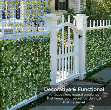 Artificial Ivy Privacy Screen