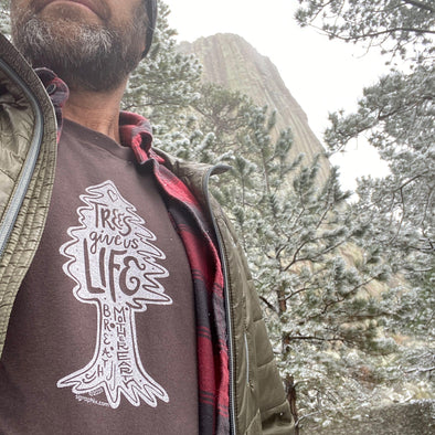 Trees Give Us Life Graphic Tee