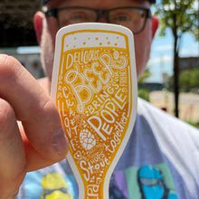 Load image into Gallery viewer, Beer Sticker USA