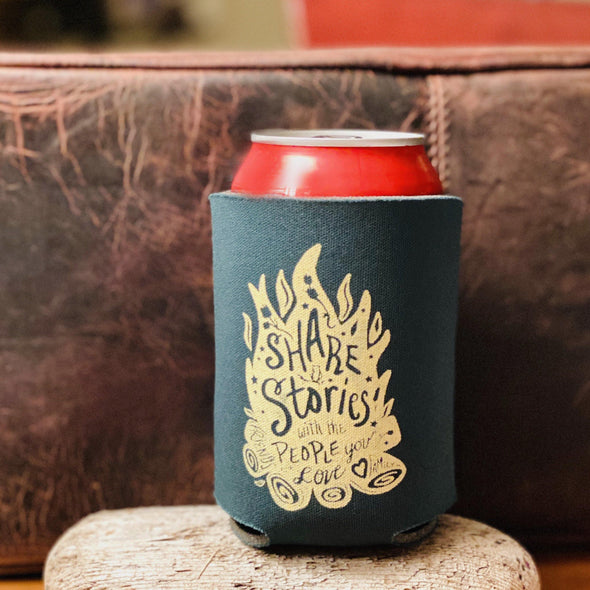 Share Stories Koozie