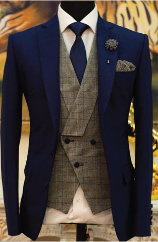 3 Piece Pant Coat for Groom