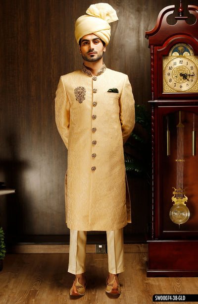 Barat Dresses for Man - Groom Sherwanis