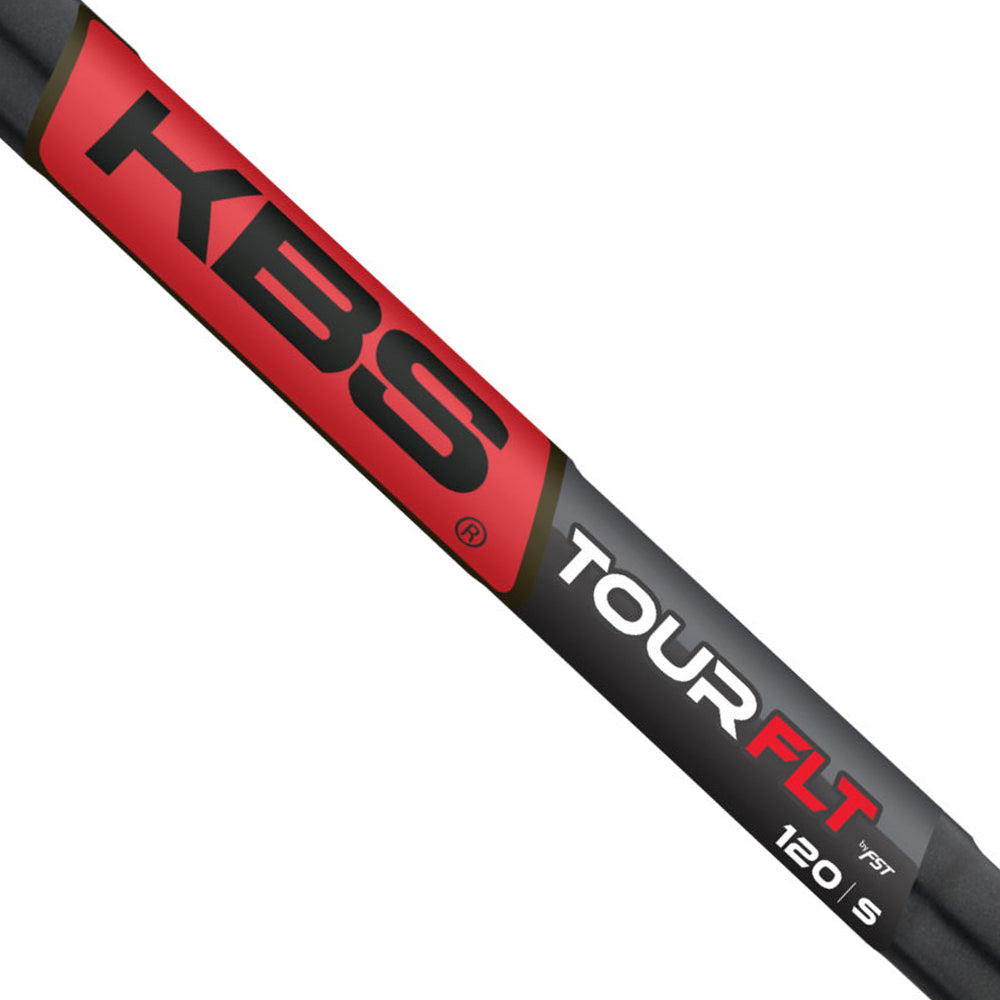 KBS TOUR FLT BLACK MATTE SHAFTS (.355) - X FLEX