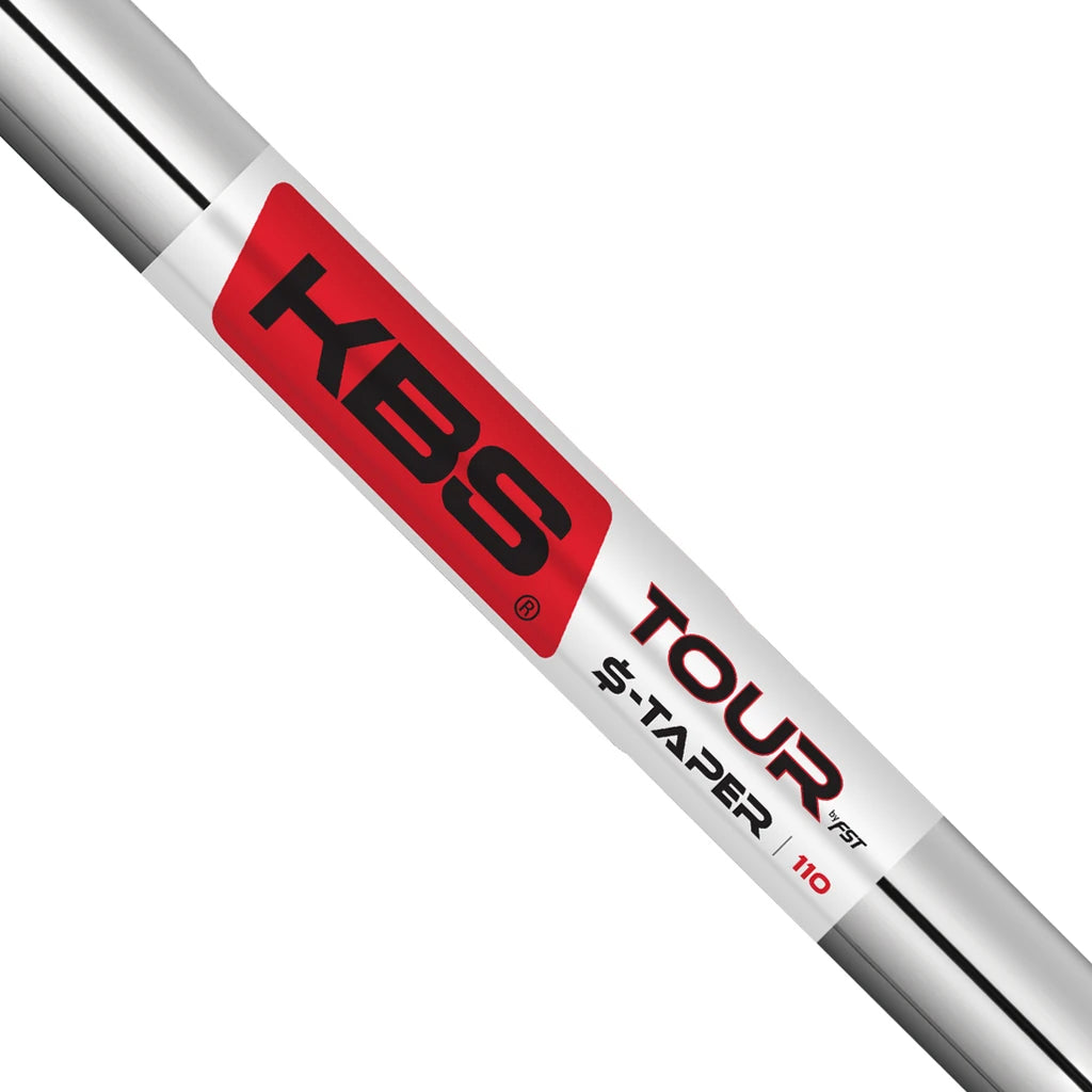 KBS $-TAPER CHROME SHAFTS - R+ FLEX (.355)
