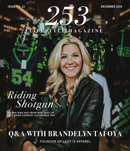 Owner Brandelyn Tafoya Featured on Cover of 253 Lifestyle Magazine
