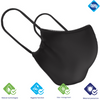 Black Reversible Mask W/Antimicrobial & Odor Protection