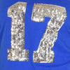 lady-12-Women's T-Shirt #17 Seattle Football-Inspired with sequin 17 logo
