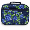 Floral design insulated lunch cooler for kids and adults by Lady 12 Football Accessories