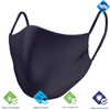 Navy Reversible Mask W/Antimicrobial & Odor Protection