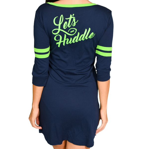 Let's Huddle Varsity Night Shirt