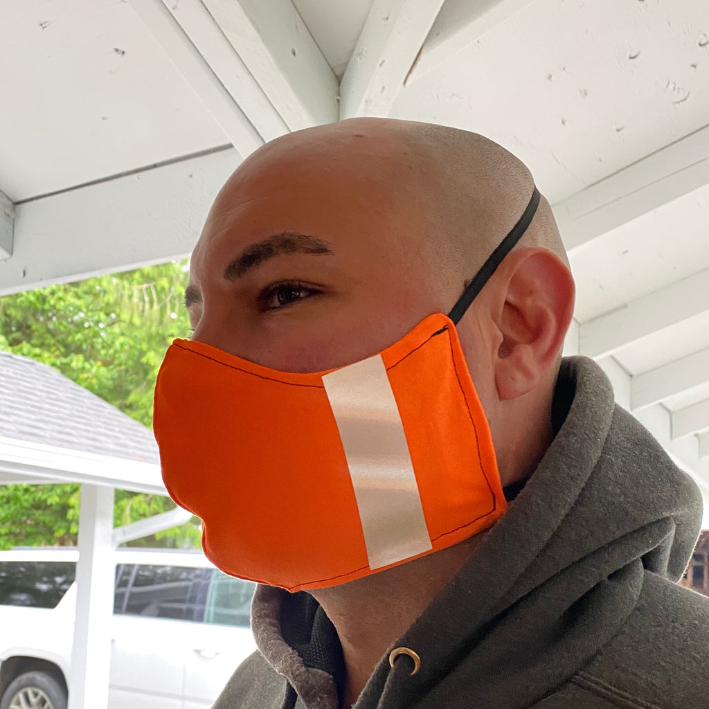 Safety Orange Mask