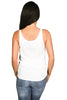 Women's Bella & Canvas Tank Top White Stay Wild