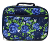 Floral design insulated lunch cooler for kids and adults by Lady 12 Football Fashions