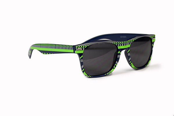 Navy & Green Sunglasses