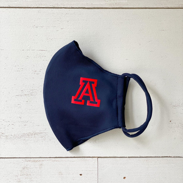 "Navy ""A"" Reversible Mask W/Antimicrobial & Odor Protection"