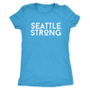 Women's Seattle Strong Next Level Triblend Crewneck T-shirt |Multiple Colors|