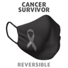 Cancer Strong Reversible Face Mask Washable & Breathable