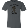 Bigfoot Shirt - Social Distancing Champ T-shirt Multiple Colors
