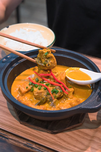Claypot Curry Chicken Rice