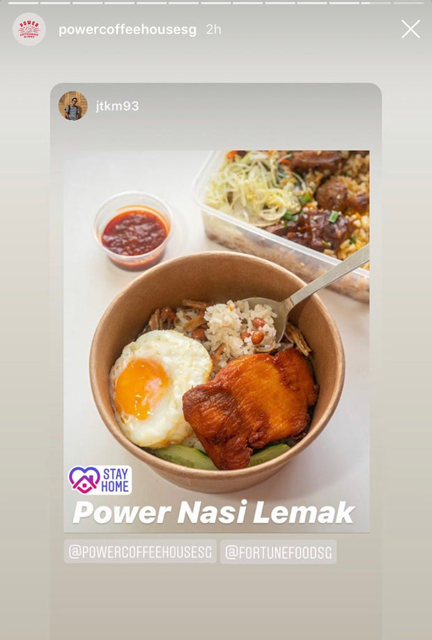 Power Nasi Lemak