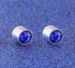 Load image into Gallery viewer, Blue Magnetic Earrings