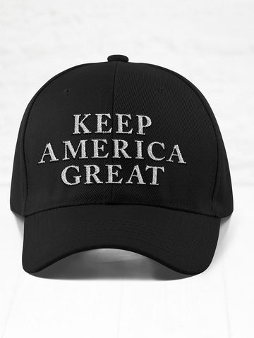 Keep America Great - Black