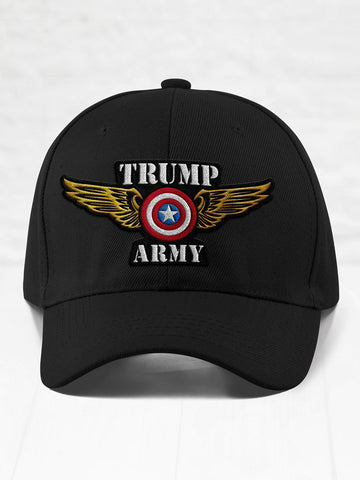 Trump Army Eagle - Black