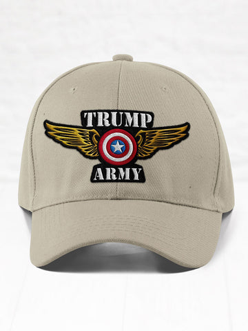 Trump Army Eagle - Stone