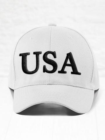 USA - Black on White