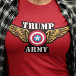 Trump Army Eagle - Red