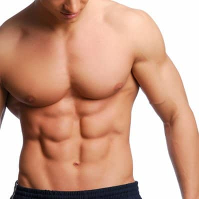 a man with a 6-pack